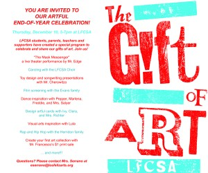 The Gift of Art Flyer